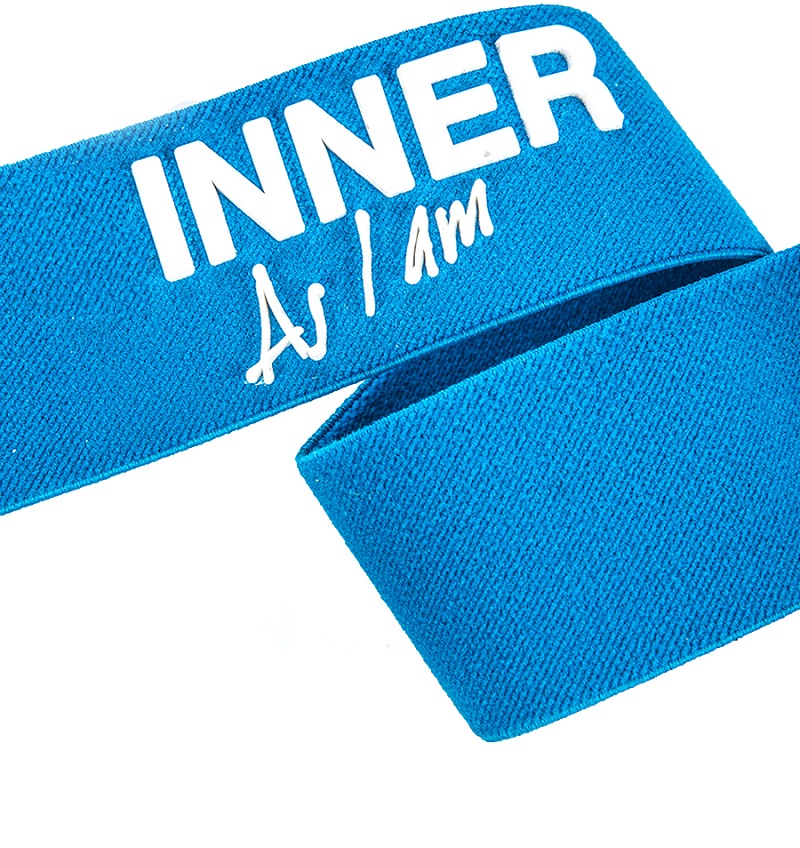 Factory Direct Wholesale Custom Polyester Elastic Webbing with Print Logo