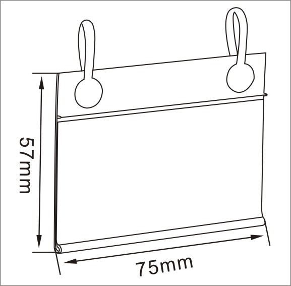 Suspender Shape Quotation Tag Shelf Connected Access Channels