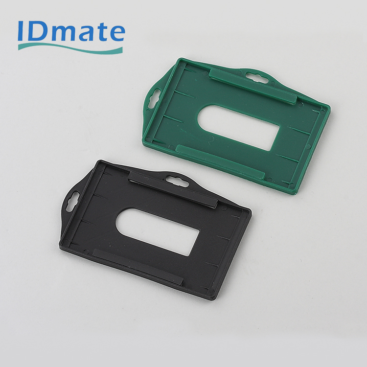 Double Direction Landscape and Portrait Standard Visible Name Enclosed Tag Holders