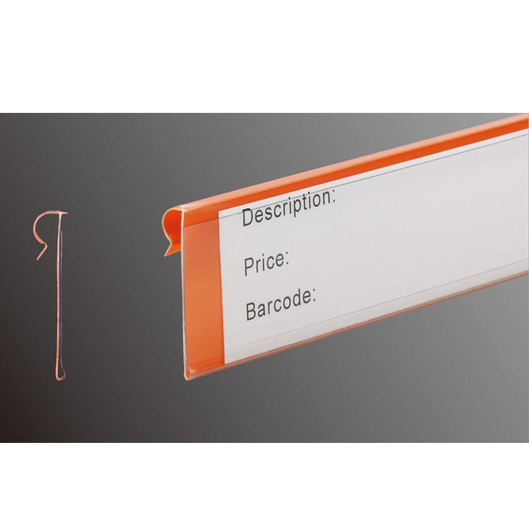 Carrot Orange Supermarket Quotation Tag Shelf Attached Data Strips