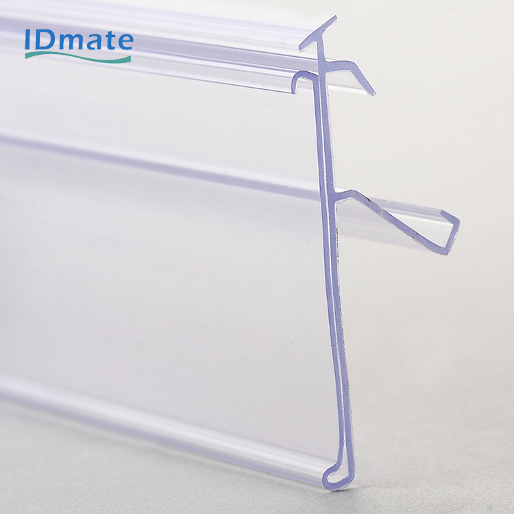 Hinged with Space Chain Stores Exhibition Shelf Attached Data Strips