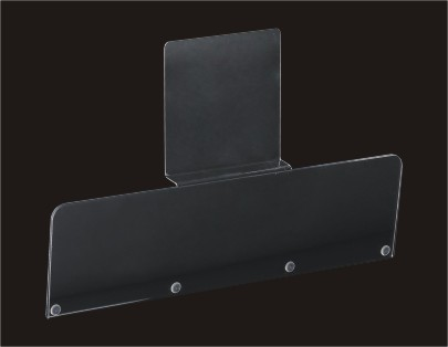 Sign Holder of A4 Perpendicular Acrylic Poster Holder Wall Mounted