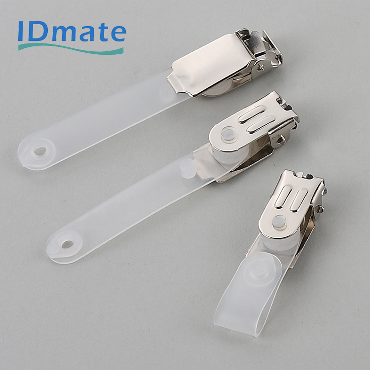 Metal Competitive Attached Versatile Economy Id Card Clip
