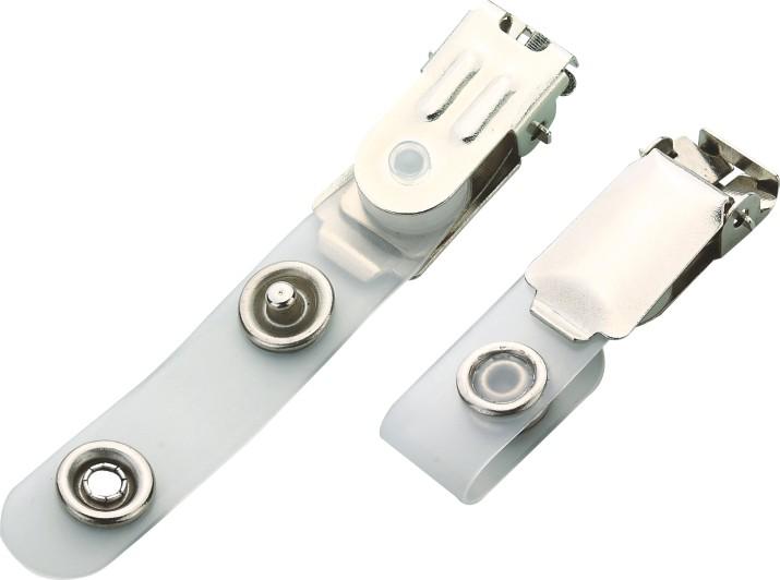 Competitive Flip Top Attached Versatile Belt Clip With Metal Popper