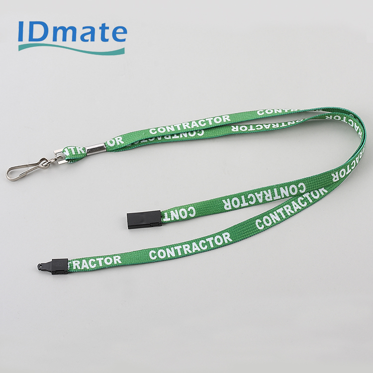 Whole Color Spectrum Thermal Conducted Woven Pattern Lanyard