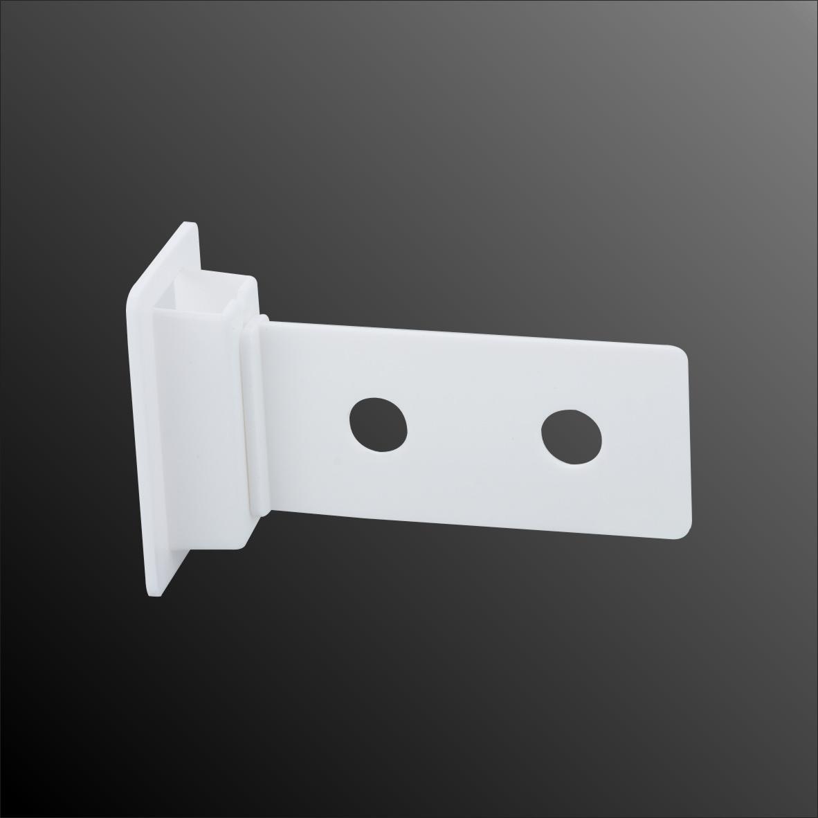 Acrylic Crystal Clear Latching Shelf Protagonist with Locker