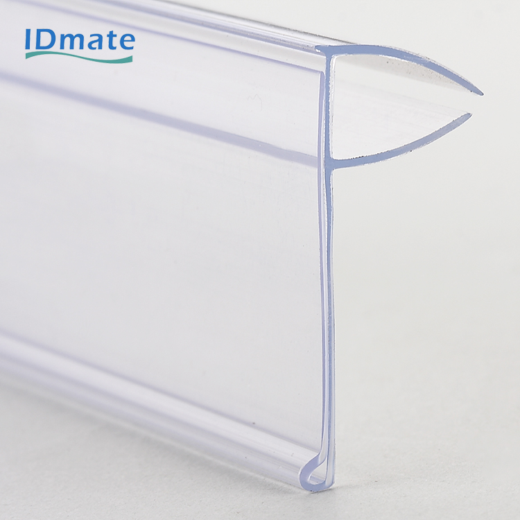Tiny Clinging Chain Stores Exhibition Shelf Attached Data Strips with Sharp Hook