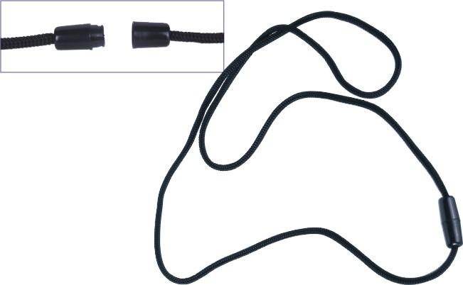 Badge Anti-creasing Portable Halyard with Safety Breakaway Buckle
