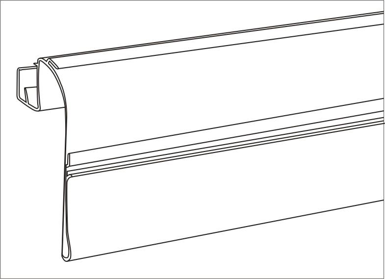 Basket Scan Chrome Supermarket Quotation Shelf Connected Data Strips