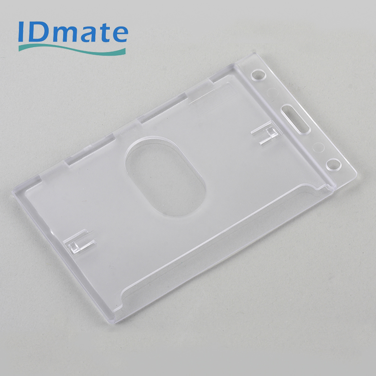 Enclosed Delineation Anti-fading Identity Holder