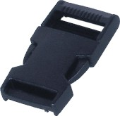 Manual Force Withstanding Safety Disconnection Buckle For 15mm Lanyard