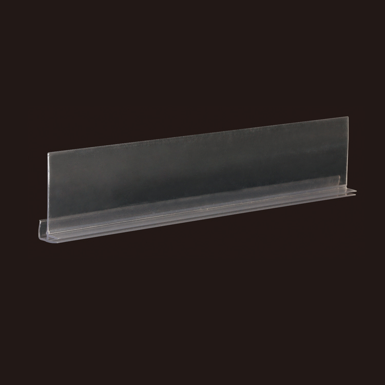 Chain Stores Exhibition Double Power Shelf Attached Data Strips with Tray