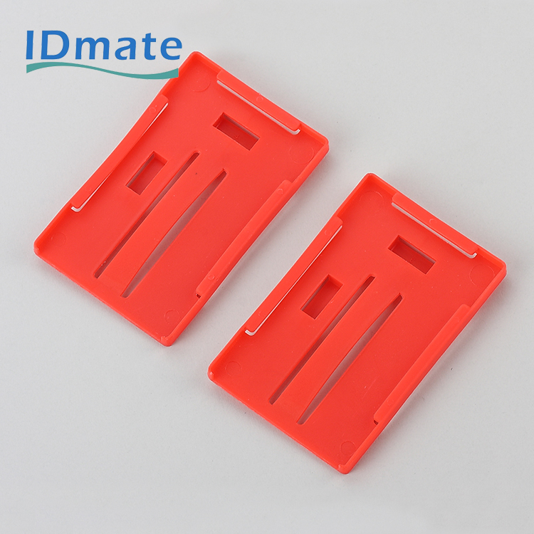 Three Standard Multi Visible Name Enclosed Tag Holders