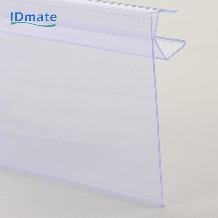 Clasping Mounting Chain Stores Exhibition Shelf Attached Data Strips