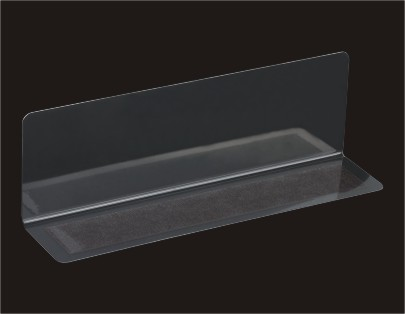 Sign Holder of A4 Acrylic Signage Solution Wall Mounted Show Holder