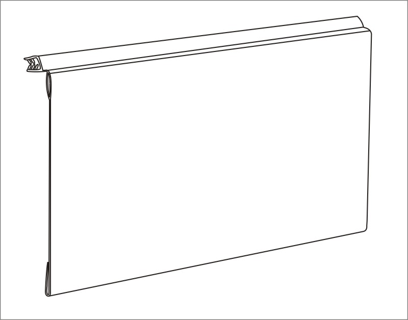 Tablet Mounting Chain Store Quotation Shelf Connected Data Strips