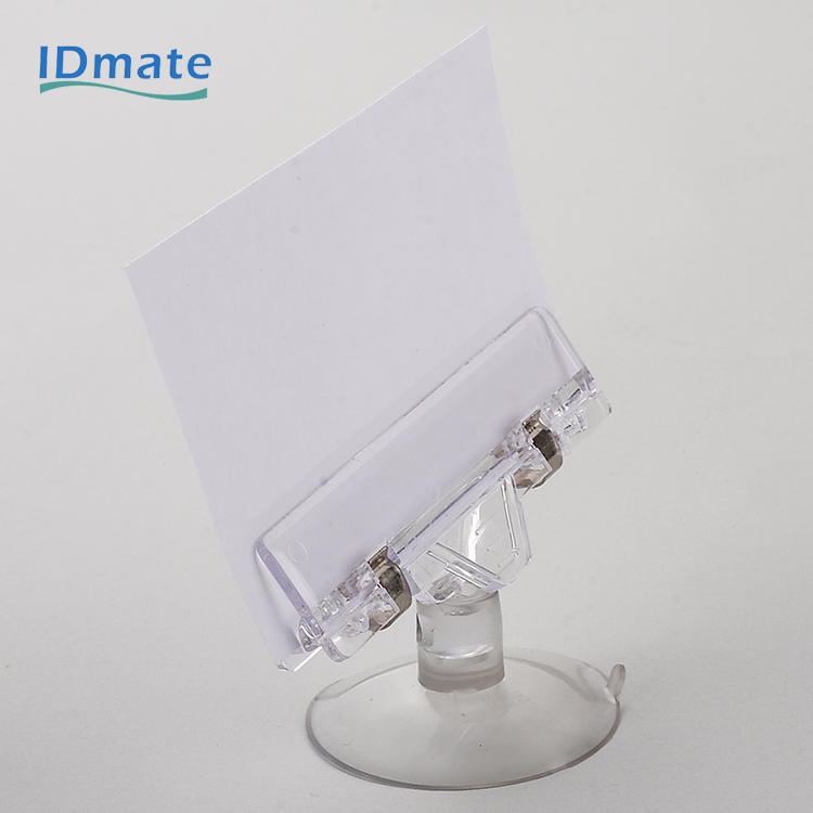 Area Electroplated Chrome Attractor Pop up Sign Holder