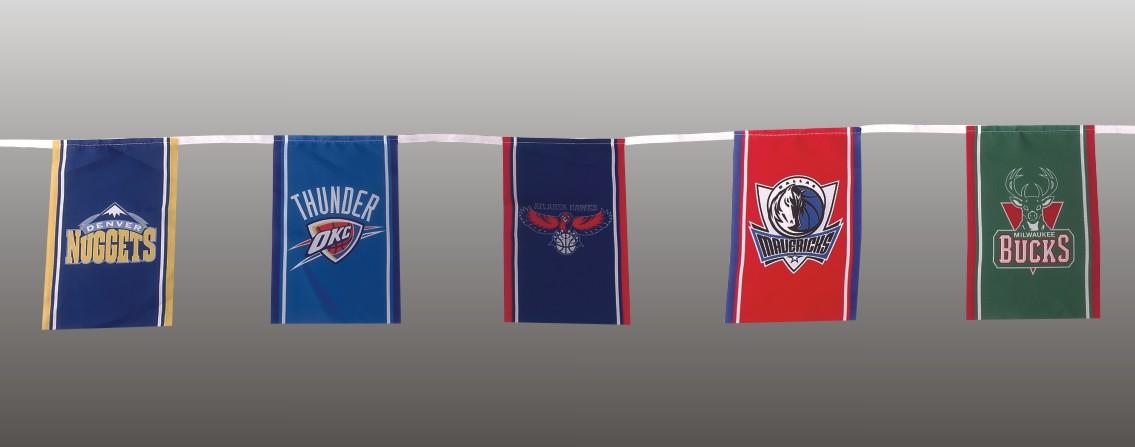 Carnival Serving Palette String Banner