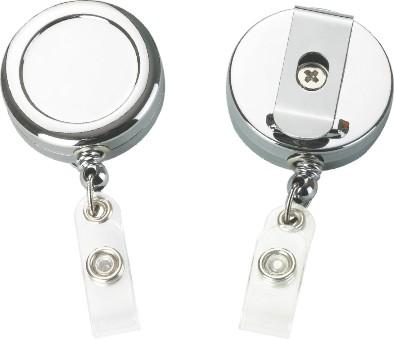 Heavy Duty Metal Chrome Steel Retractable Yo-yo Holder