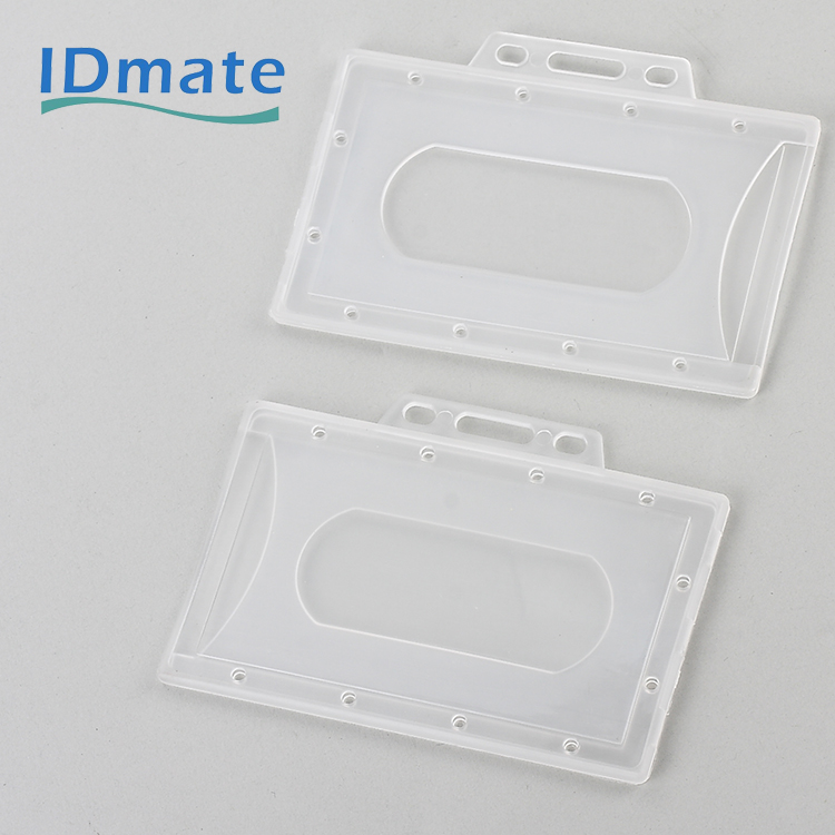 Natrual Frosted Landscape Visible Name Enclosed Tag Holders