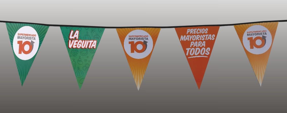 Carnival Serving Palette Banner on the String
