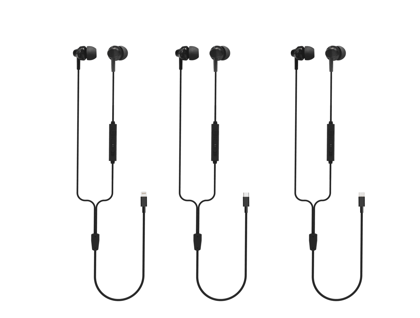 Hot Selling for iPhone Phone Headset Earphone 8Pin Mic Good Sound Playing Wired 8Pin Headset Earphone for iPhone