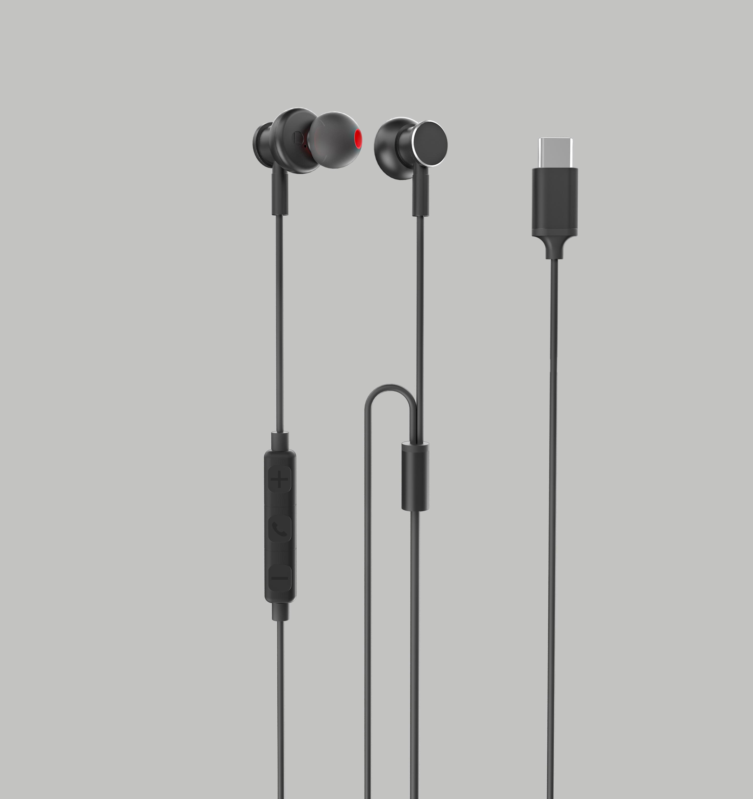 金属外壳带麦克风控制耳机苹果耳机
