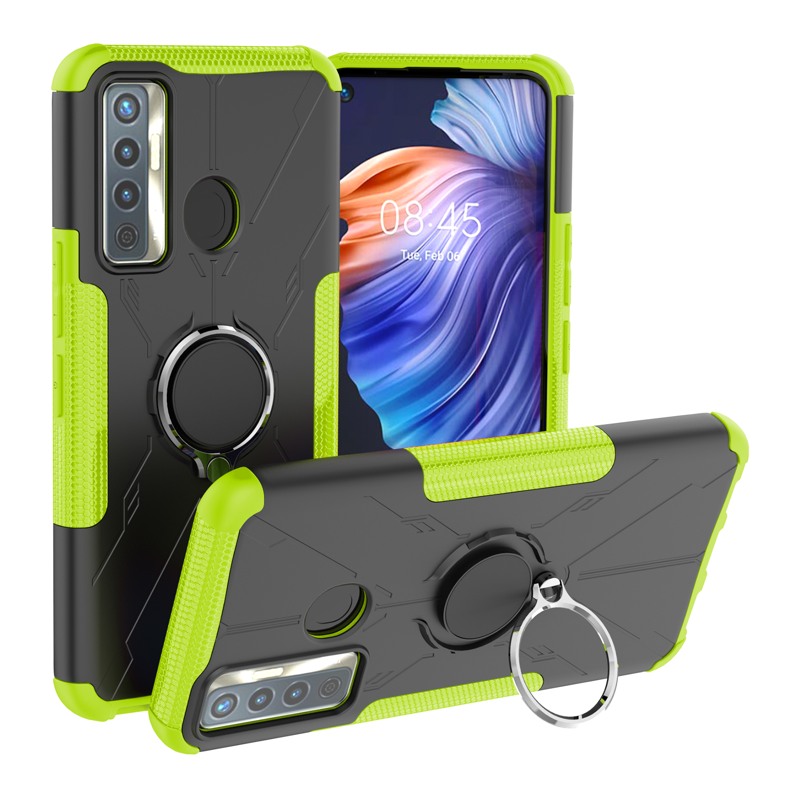 Mecha Phone Case For Tecno Camon 17