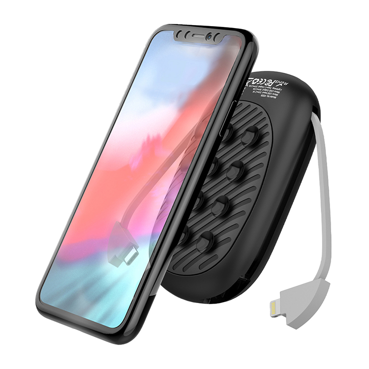 10000mah Power Bank With Suction Cup