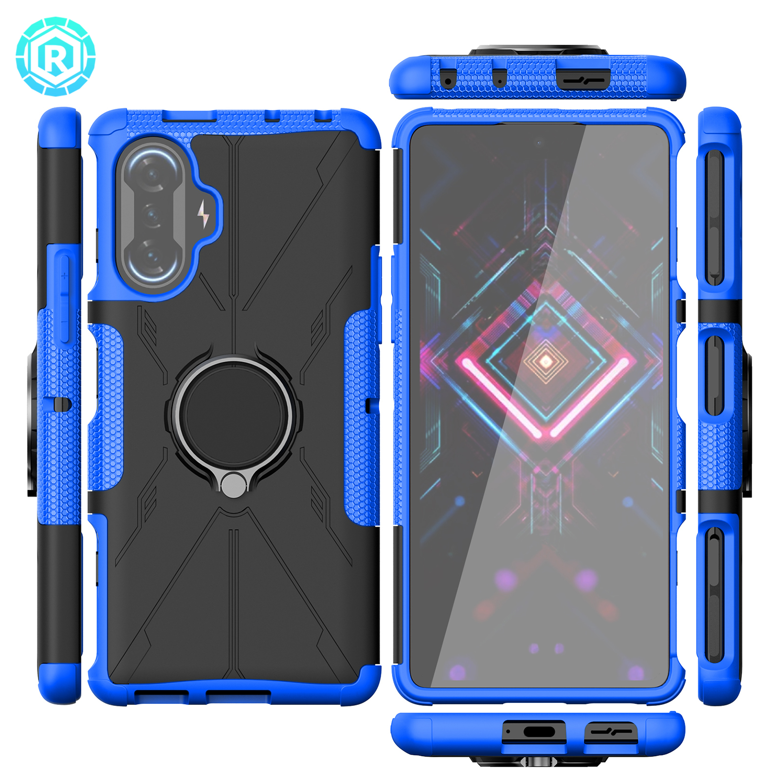 Mecha Phone Case For Redmi K40 Gaming