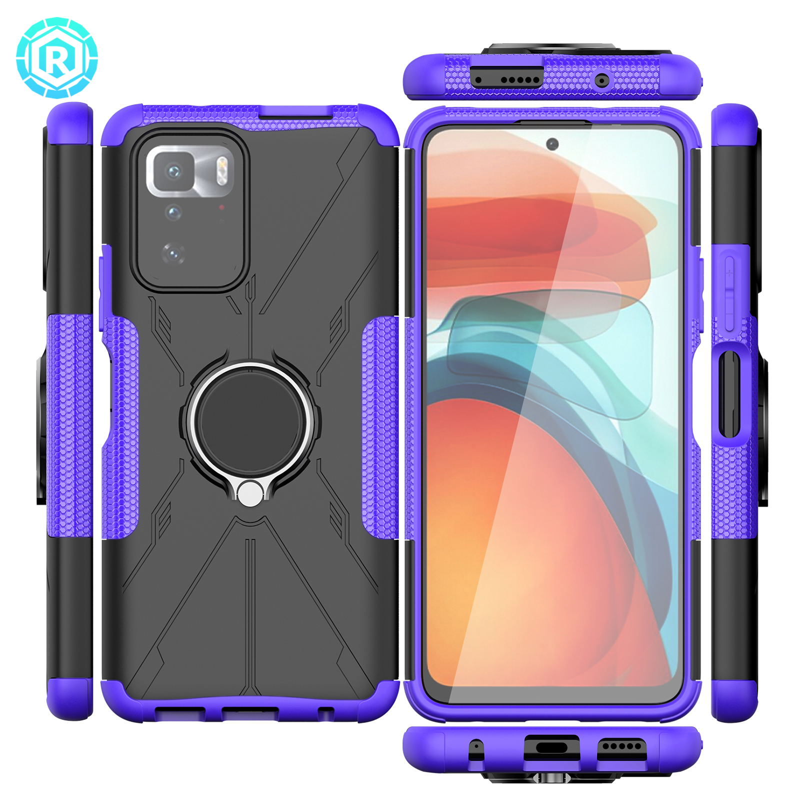 Mecha Phone Case For Redmi Note 10 Pro 5G