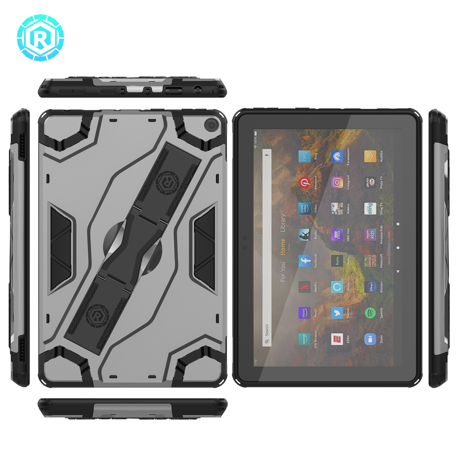 Escort Tablet Case For Amazon Fire HD 10 2021